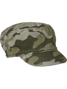Camo Cadet Hats for Baby