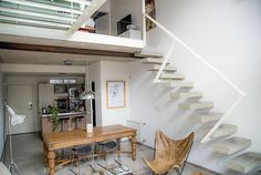 Comedores de estilo escandinavo por MeMo arquitectas