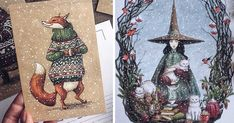 Fairytale-Inspired Color Pencil Drawings By Russian Artist   Bored Panda