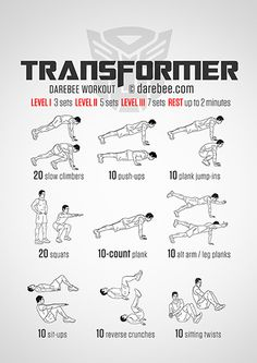 Transformer Workout