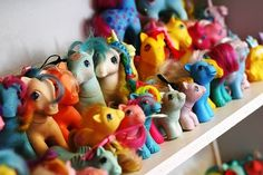 My Little Pony / the original 80's girl toys  and this is why my daughter loves these ponies now.