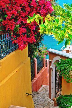Colorful Assos Village - Kefalonia, Greece