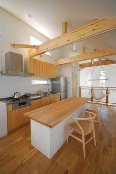 Kitchen Interior, Kitchen Design, Kitchen Ideas, Cafe Design, House Design, Nordic Kitchen, Diy Kitchen Storage, Minimalist Home, Home Renovation