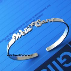 324d996bb silver name bracelet solid Custom Name Necklace, Bangles Making, Name  Bracelet, Personalized Jewelry. Israel Depot