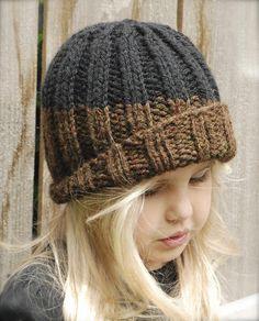 Slate Cap Knitting pattern by The Velvet Acorn. Find this children hat pattern and more knitting inspiration at LoveKnitting.Com.