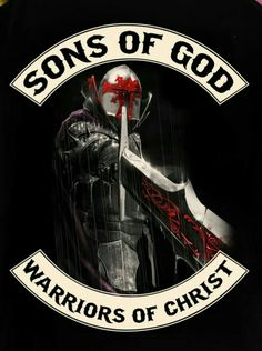 """Sons of God, Warriors of Christ"" logo Christian Warrior, Christian Art, Christian Quotes, Warrior Quotes, Prayer Warrior, Bild Tattoos, Armor Of God, Godly Man, Knights Templar"