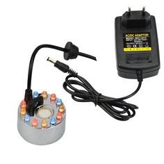 $19.58 (Buy here: https://alitems.com/g/1e8d114494ebda23ff8b16525dc3e8/?i=5&ulp=https%3A%2F%2Fwww.aliexpress.com%2Fitem%2FNew-High-Quality-Ultrasonic-Mist-Maker-Fogger-Humidifier-24v-Nebulizer-with-12-LED-Lights%2F32721275940.html ) New High Quality Ultrasonic Mist Maker Fogger Humidifier 24v Nebulizer with 12 LED Lights for just $19.58