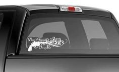 Don't Tread On Me Ladies Car Decal Sticker 2nd Amendment Constitution Gun. $10.00, via Etsy.