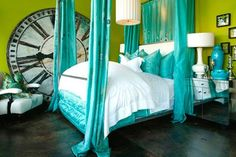 Alice in Wonderland Bedroom Furniture | very alice in wonderland like, i would love this bedroom