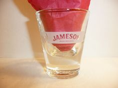 Very Nice Jameson Spirits Advertising Collectible Glass Marble