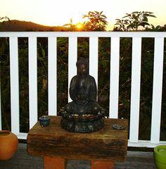My meditation space.