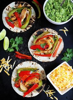 Sheet Pan Chicken Fajitas Are The Perfect Quick And Easy Weeknight Dinner! This Flavorful Fajita Recipe Combines Marinated Chicken, Peppers, Onion, And A Mix Of Seasonings. It Is A Family Favorite! Fajitas are one of our all-time favorite Mexican meals. Easy Chicken Fajitas, Chicken Fajita Recipe, Marinated Chicken, Baked Chicken, Chicken Recipes, Chicken Taquitos, Oven Fajitas, Turkey Recipes, Mexican Food Recipes