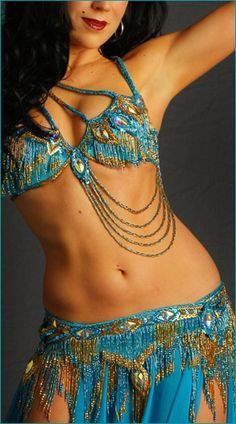 Turquoise and Gold Bella
