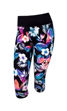 Running Bare - Malibu 3/4 Tight - Running Bare Australia PTY LTD Warrior Workout, Workout Gear For Women, Gym Gear, Workout Tops, Fitness Fashion, Fitness Clothing, Harem Pants, Pajama Pants, Swim Trunks