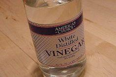 White Vinegar works wonders with concrete!