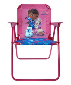 Take a look at this Doc McStuffins Canvas Chair by Doc McStuffins on #zulily today!