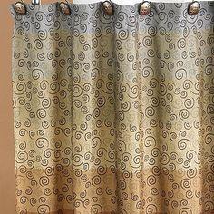 Miramar Fabric Shower Curtain