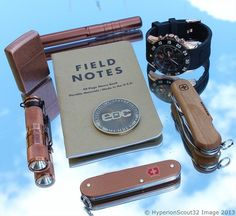 Really nice carry with copper, two SAKs, Field Notes, and an EDC Challenge Coin. Solid!