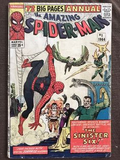 Amazing Spider-Man Annual # 1 - 1st Sinister Six