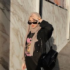 Casual Hijab Outfit, Ootd Hijab, Hijab Chic, Casual Outfits, Hijab Fashion, Korean Fashion, Girl Fashion, Fashion Outfits, Aesthetic Clothes