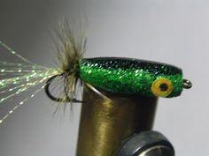 Trash Flies Blog: Bling Bass Popper