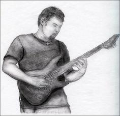 Richie graphite sketch by redryder72.deviantart.com on @deviantART