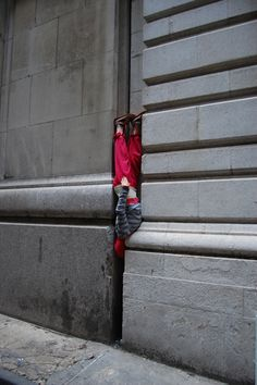 »Bodies in Urban Spaces« by Willi Dorner dance company