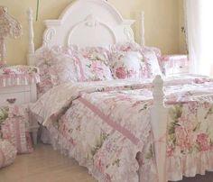 Romantic shabby bedroom
