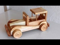 Wooden Toy Trucks, Wooden Car, Making Wooden Toys, Train Truck, Wooden Crafts, Wood Toys, Diy Toys, Hobbies And Crafts, Woodworking Projects