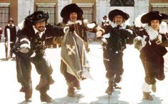 The 1970's vintage Three Musketeers - no Charlie Sheen, no CGI. This and the following Four Musketeers arguably the best of the bunch.
