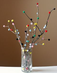 The Surznick Common Room: Pom-pom Tree