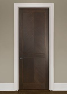 Modern Mahogany Solid Wood Front Entry Door Single Dbim Md4055 Custom Interior Doors