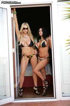 Kelly Madison & Sienna West