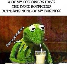 The Same Boyfriend... #LOL #NoneOfMyBusiness