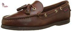 Sebago Caspian, Mocassins Femme, Marron (Brown Oiled Waxy Lea), 38 EU - Chaussures sebago (*Partner-Link)
