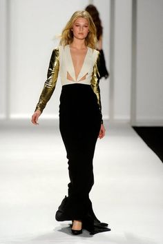I can't pick just one look from J. Mendel this season, but this one is a good representation. Stunning.