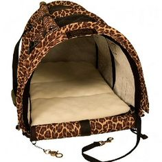 Cheetah 'SturdiBag' Pet Carrier from Sturdi Products, Limited Edition Print #Cheetah #SturdiBag