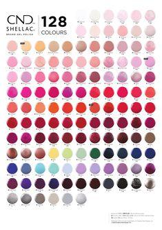 Cnd Shellac Colour Chart, Cnd Shellac Colors Winter, Gel Polish Colors, Shellac Nail Polish, Shellac Nail Designs, Cnd Nails, Nail Nail, Manicures, Cnd Colours