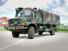 Mercedes Zetros 4x4 Military Truck