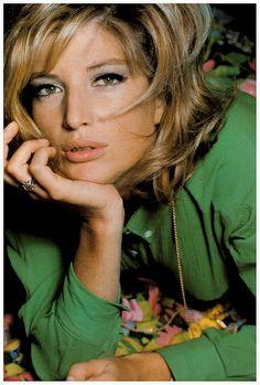 Monica Vitti, Vogue 1965  David Bailey