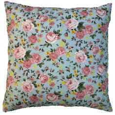 Duck Egg Blue Cushion Cover Pink Floral Cotton Print Shabby Chic Style KAKIA DESIGNS UK http://www.amazon.co.uk/dp/B00FO4E6ZM/ref=cm_sw_r_pi_dp_ShYZwb11MNSE1