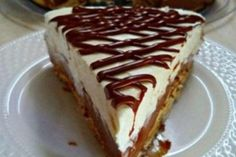 Cookbook Recipes, Cooking Recipes, Greek Cake, Brazilian Lemonade, Greek Sweets, Something Sweet, Custard, Cheesecake, Pie