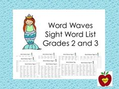Sight Word List (Grade 2 and 3)