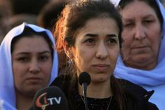 Nadia Murad, an Iraqi Yazidi woman held as a sex slave by Islamic State militants who won this year's Nobel Peace Prize, said on Friday she intended to use the prize money to build a hospital for victims of sexual abuse in her hometown. The Yazidi. Global Fund, Crime, All Seeing Eye, Nobel Peace Prize, Great Expectations, Latest World News, Kinds Of Clothes, Hold On, Nations Unies