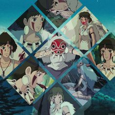 """""""I'm not afraid to die. I'd do anything to get you humans out of my forest!"""" —San """"Princess Mononoke"""""""