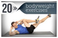 The 20 Best Body-Weight Exercises