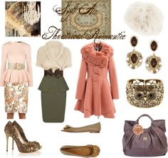 """Soft Autumn Theatrical Romantic"" by thewildpapillon ❤ liked on Polyvore"