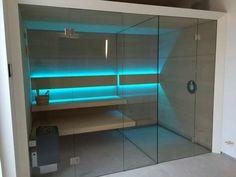 Sauna Line.  Polski producent saun. Model Modernline z prysznicem. Wiecej na www.saunaline.pl