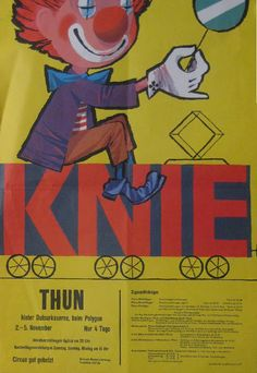 Circus collection: Knie 1961