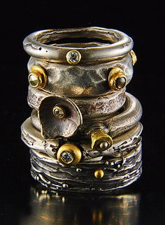 LOVE Tai Vautieer's jewelry. Her pieces look so rough/rustic but also have this fun and whimsical air about them.